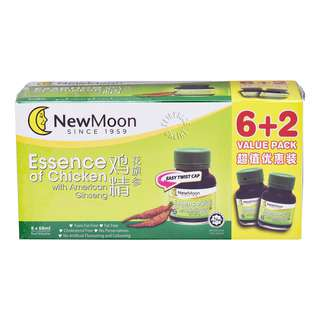 New Moon Essence of Chicken -American Ginseng