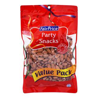 FairPrice Party Snacks - Roasted Almonds (Unsalted)