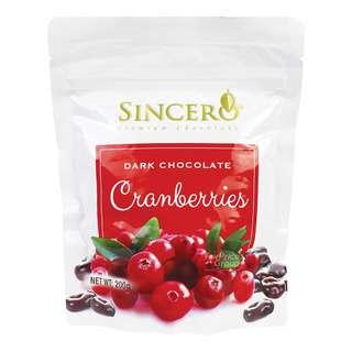 Sincero Dark Chocolate - Cranberries