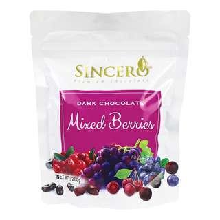 Sincero Dark Chocolate - Mixed Berries