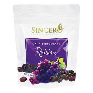 Sincero Dark Chocolate - Raisins