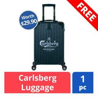 FREE Luggage (worth $89.90)