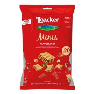 Loacker Classic Mini Crispy Wafers - Napolitaner