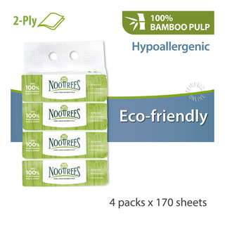 NooTrees Bamboo Pulp Facial Tissue - Soft (2ply)