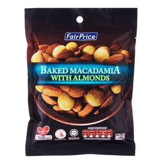 FairPrice Baked Macadamia with Almonds