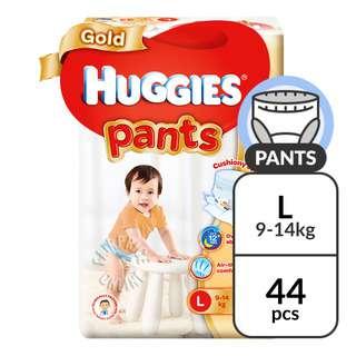 Huggies Baby Diaper Gold Pants - L (9 - 14kg)