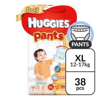 Huggies Baby Diaper Gold Pants - XL (12 - 17kg)