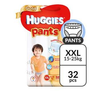 Huggies Baby Diaper Gold Pants - XXL (15 - 25kg)