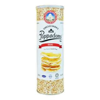 Uncle Saba's Poppadoms Lentil Chip - Original
