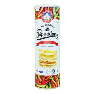 Uncle Saba's Poppadoms Lentil Chip - Sweet Chilli
