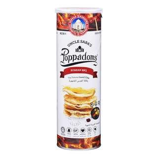 Uncle Saba's Poppadoms Lentil Chip - Korean BBQ