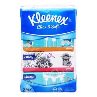 Kleenex Facial Tissue Soft Pack (2ply)