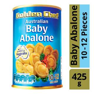 Golden Chef Australian Baby Abalone (10 - 12 Pieces)
