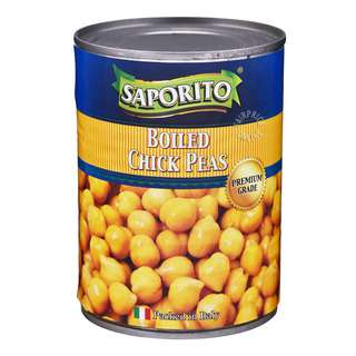 Saporito Can Food - Boiled Chick Peas