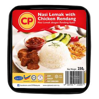 CP Frozen Ready Meal - Nasi Lemak with Chicken Rendang