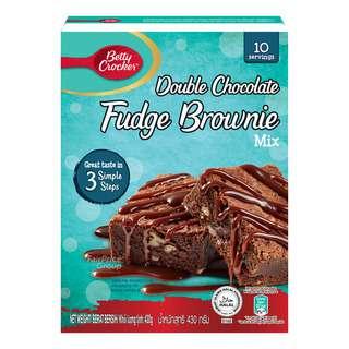 Betty Crocker Fudge Brownie Mix - Double Chocolate