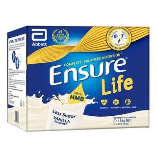 Abbott Ensure Life Adult Milk Formula Refill - Vanilla