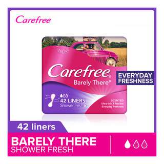 Carefree Barely There Pantiliners - Shower Fresh
