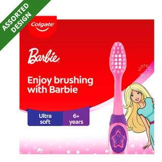 Colgate Kids Toothbrush - Barbie/Spiderman (5 - 9 years)