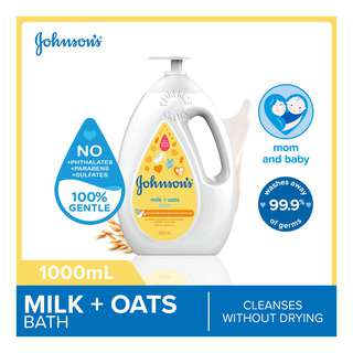 Johnson's Baby Bath Wash - Milk + Oats