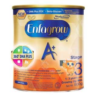 Enfagrow A+ Toddler Milk Powder Formula - Stage 3 (Original)