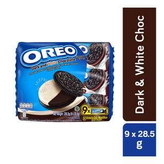 Oreo Cookie Sandwich Biscuit - Dark & White Chocolate
