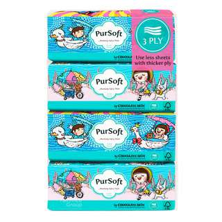 PurSoft Tissue Soft Pack - Outdoor (3ply)