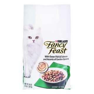 Fancy Feast Dry Cat Food - Oceanfish, Salmon & Garden Greens