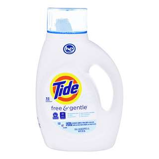 Tide Laundry Liquid - Free & Gentle