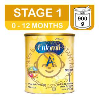Enfamil A+ Infant Milk Powder Formula - Stage 1