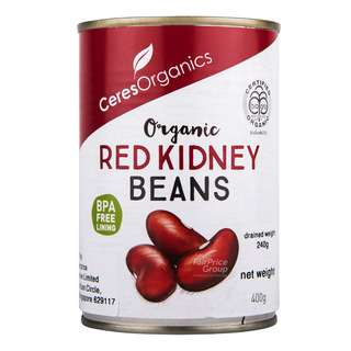Ceres Organics - Organic Red Kidney Beans, keeps things pure and wholesome