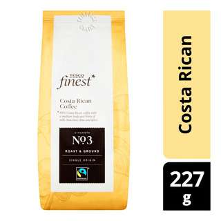 Tesco Finest Roast & Ground Coffee - Costa Rican
