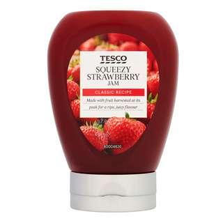 Tesco Squeezy Jam - Strawberry