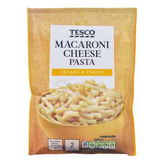 Tesco Pasta & Sauce - Macaroni Cheese