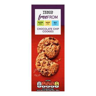Tesco Free From Cookies - Chocolate Chip