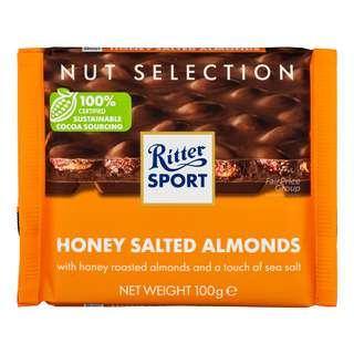 Ritter Sport Chocolate - Honey Salt Almonds