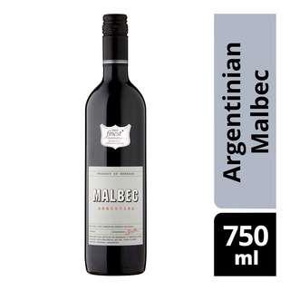 Tesco Finest Red Wine - Argentinian Malbec