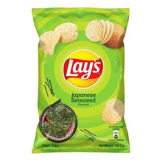 Lay's Potato Chips - Kyushu Seaweed