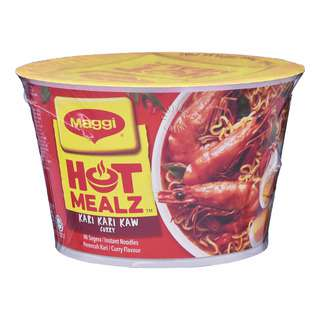 Maggi Hot Mealz Instant Bowl Noodles - Curry