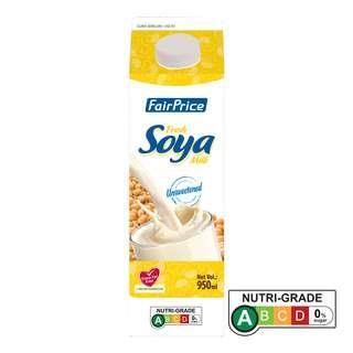 FairPrice Hi Calcium Fresh Soya Milk - Unsweetened