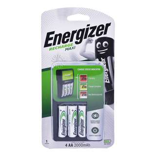 Energizer Battery Charger - Recharge Value (AA)