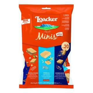 Loacker Classic Mini Crispy Wafers - Assorted