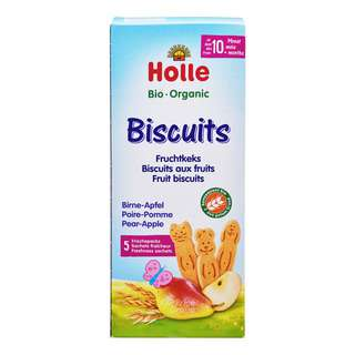Holle Organic Baby Biscuits - Pear & Apple