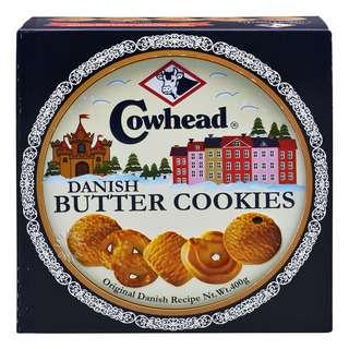 Cowhead Danish Butter Cookies Tin