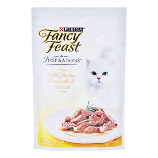 Fancy Feast Inspirations Cat Food - Chicken, Courgette & Tomato