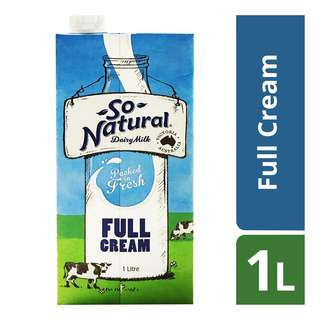 So Natural UHT Milk - Full Cream