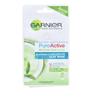 Garnier Pure Active Matcha Deep Clean - Clay Mask