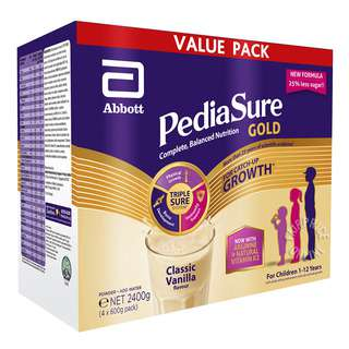 PediaSure TripleSure Milk Powder - Classic Vanilla