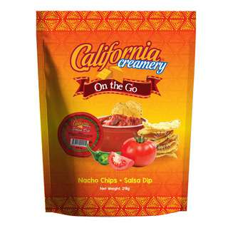 California Creamery Tortilla Chips - Salsa Dip