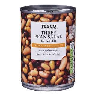 Tesco Three Bean Salad in Water